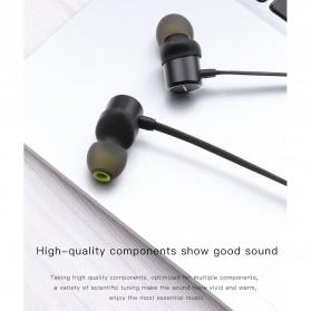 Awei Earphone Bluetooth Sport Neckband with Mic - WT10 - Black - 4