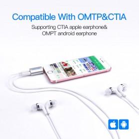 Vention Splitter Audio AUX 3.5mm 2 Port Earphone & Microphone - BDBW0 - White - 5