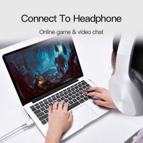 Vention Splitter Audio AUX 3.5mm 2 Port Earphone & Microphone - BDBW0 - White - 8