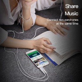Vention Splitter Audio AUX 3.5mm 2 Port Earphone & Microphone - BDBW0 - White - 9