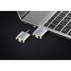 Vention Splitter Audio AUX 3.5mm 2 Port Earphone & Microphone - BDBW0 - White - 10