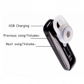 Headset Wireless Stereo Ear Hook - S015 - Black - 2
