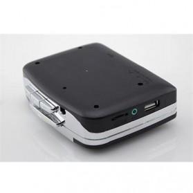 Kaset Tape USB MP3 Player - EC007C - Black - 3