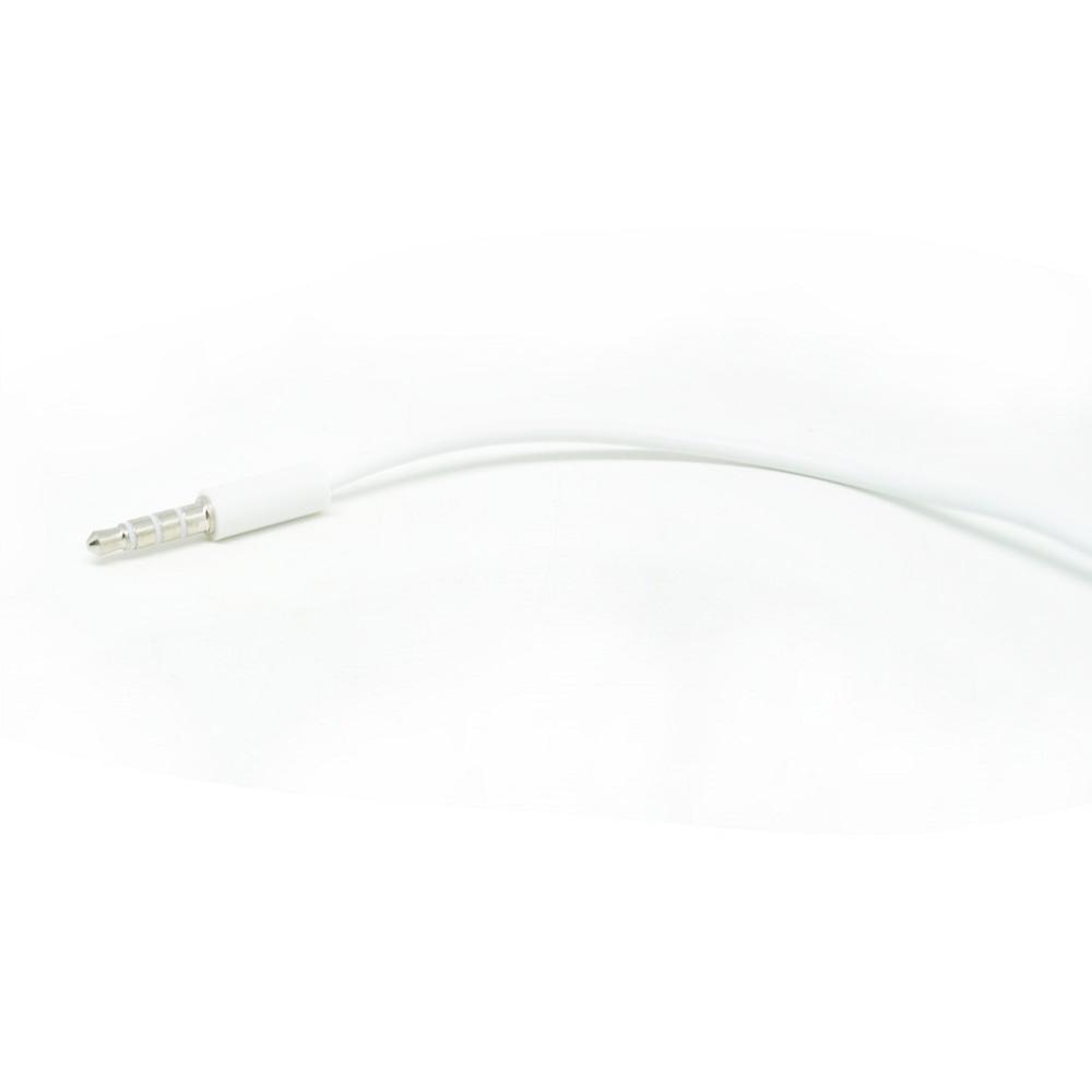 Microphone Headphone Audio Splitter 3.5mm ke 2 x 3.5mm - FA29735 - White ...