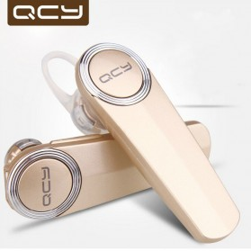 QCY Q8 Bluetooth Headset Handsfree - Golden