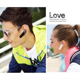 QCY Q8 Bluetooth Headset Handsfree - Golden - 4