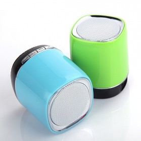 Hands-free Portable Bluetooth Speaker with TF Card Slot - DF-B02T - Black