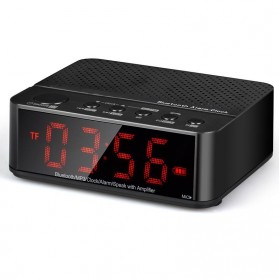 Taffware Jam Alarm Dengan Speaker Bluetooth - BC-01 - Black - 4