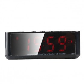 Taffware Jam Alarm Dengan Speaker Bluetooth - BC-01 - Black - 7