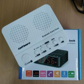 Taffware Jam Alarm Dengan Speaker Bluetooth - BC-01 - White - 2