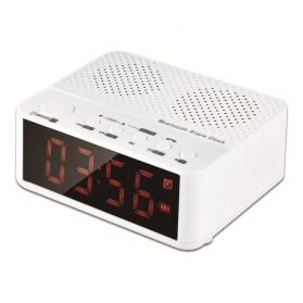 Taffware Jam Alarm Dengan Speaker Bluetooth - BC-01 - White - 3