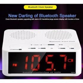 Taffware Jam Alarm Dengan Speaker Bluetooth - BC-01 - White - 10