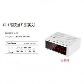 Taffware Jam Alarm Dengan Speaker Bluetooth - BC-01 - White - 13