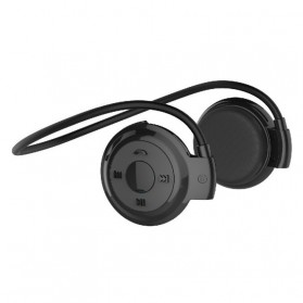 Sport Wireless Bluetooth Headphone dengan Mic - Mini503 - Black - 1