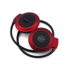 Sport Wireless Bluetooth Headphone dengan Mic - Mini503 - Red - 3