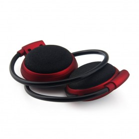 Sport Wireless Bluetooth Headphone dengan Mic - Mini503 - Red - 4