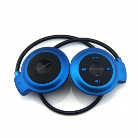 Sport Wireless Bluetooth Headphone dengan Mic - Mini503 - Blue