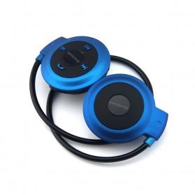Sport Wireless Bluetooth Headphone dengan Mic - Mini503 - Blue - 3
