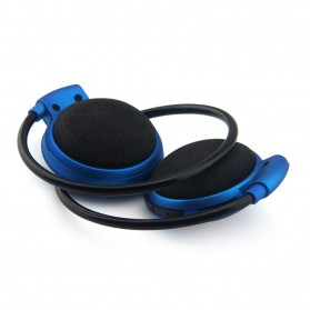 Sport Wireless Bluetooth Headphone dengan Mic - Mini503 - Blue - 4
