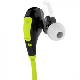 Earphone Bluetooth Sport dengan Mic - QY7 (OEM) - Black - 3