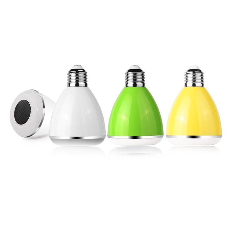 led multicolor light bulb bluetooth speaker dl pc002 white jakartanotebook
