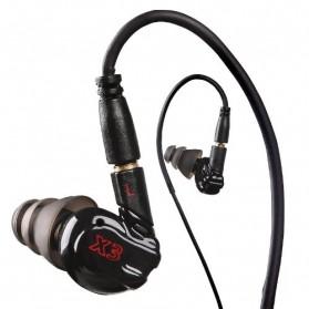Moxpad X3 Sport HiFi In-Ear Headphones with Mic - Black