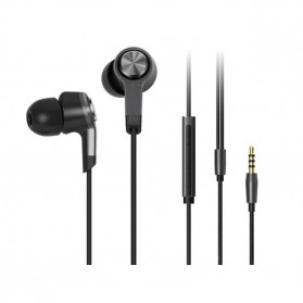 Xiaomi Mi Piston Huosai Earphone 3.0 Generation (Replika 1:1) - Titanium Silver
