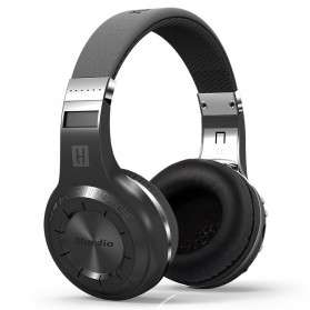 Bluedio H+ Turbine Wireless Bluetooth Headphone - Black