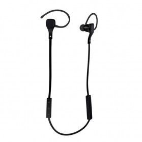Sport Bluetooth Earphone with Microphone - BT-H06 - Black