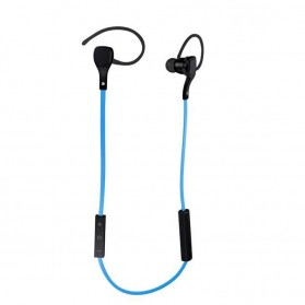 Sport Bluetooth Earphone with Microphone - BT-H06 - Blue