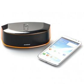 GS Bass Portable Bluetooth Speaker - GS809 - Black - 3