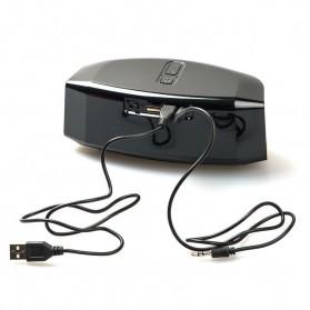 GS Bass Portable Bluetooth Speaker - GS809 - Black - 5