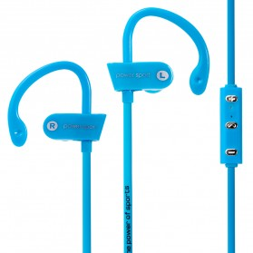 Power Sport Bluetooth Earphone with Microphone - MS-B7 - Blue - 2