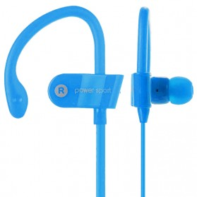 Power Sport Bluetooth Earphone with Microphone - MS-B7 - Blue - 3