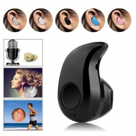 Micro Sport Bluetooth Earphone - S530 - Black - 1