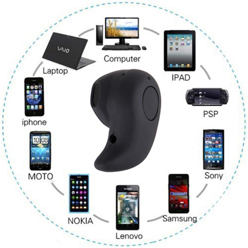 Micro Sport Bluetooth Earphone - S530 - Black - 5 ...