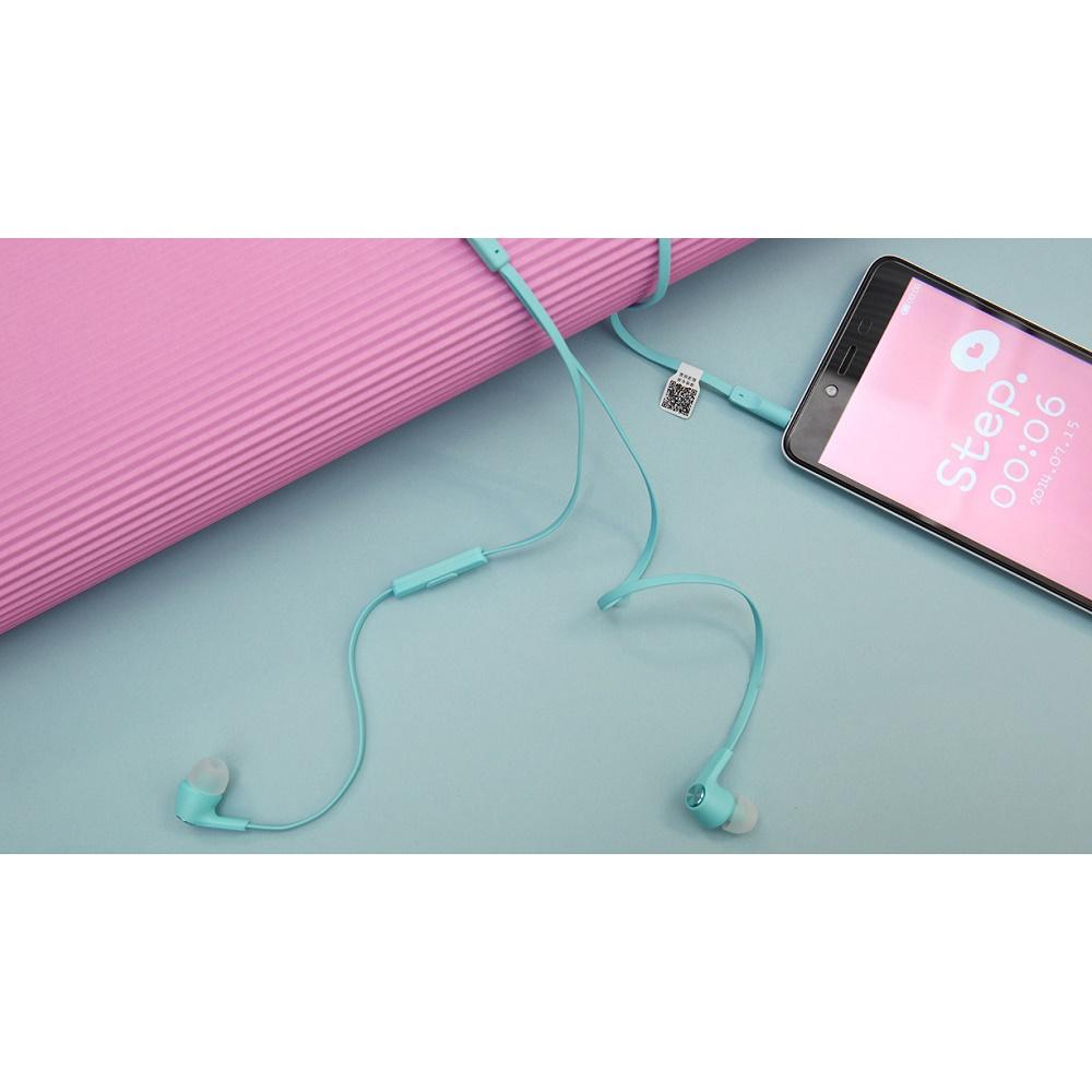 Xiaomi Mi Piston Huosai Earphone Colorful Edition Oem Blue Silver 2