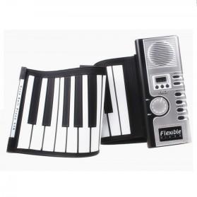 KOKKO Flexible Piano Digital Roll Up Soft Keyboard 61 Key + Midi Function - PN88S - 2