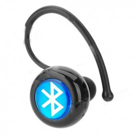 Wireless Headset Bluetooth V4.1+EDR dengan Mic - Black
