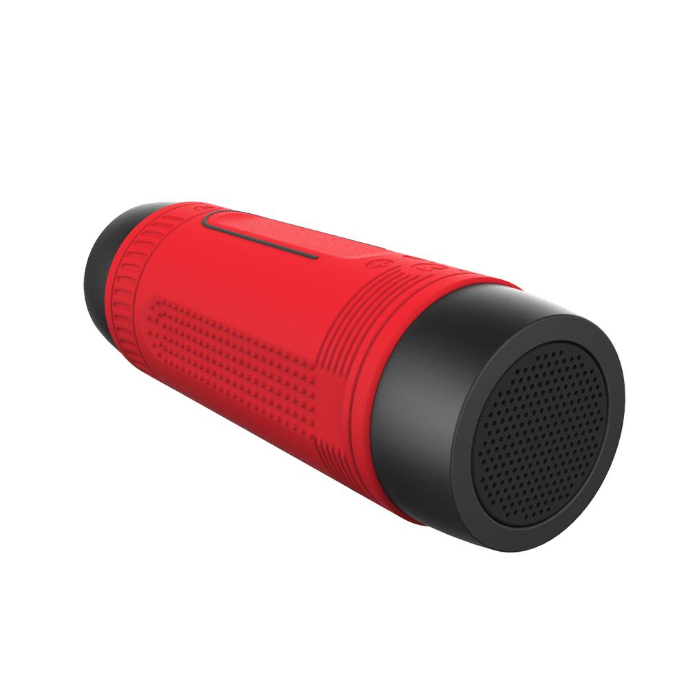 ... Zealot Bluetooth Speaker Waterproof dengan Powerbank 4000mAh & Senter - Black - 2 ...