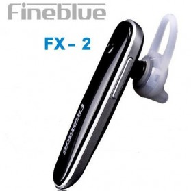 FineBlue Single Bluetooth Headset Handsfree  - FX-2 - Black