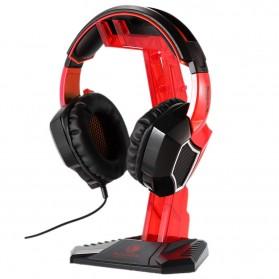 Sades Universal Gaming Headphone Hanger - C809 - Red