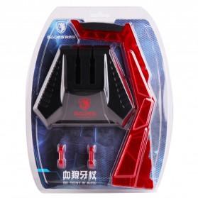 Sades Universal Gaming Headphone Hanger - C809 - Red - 6