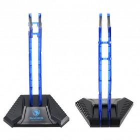 Sades Universal Gaming Headphone Hanger - C809 - Blue - 2