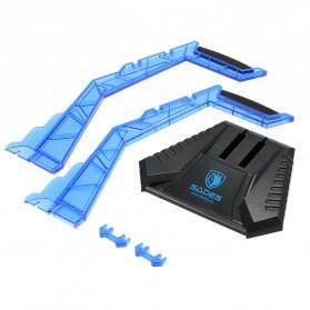 Sades Universal Gaming Headphone Hanger - C809 - Blue - 3