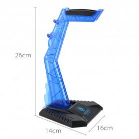 Sades Universal Gaming Headphone Hanger - C809 - Blue - 5