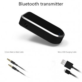 Bluetooth Transmitter - BT-4 - Black - 5