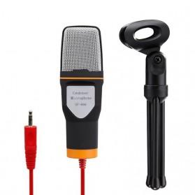 TaffSTUDIO Mikrofon Kondenser Studio dengan Stand - SF-666 - White - 2