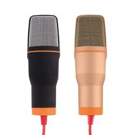 TaffSTUDIO Mikrofon Kondenser Studio dengan Stand - SF-666 - White - 6