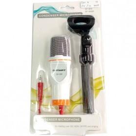 TaffSTUDIO Mikrofon Kondenser Studio dengan Stand - SF-666 - White - 8